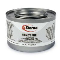 Sterno Handy Fuel Methanol Gel Chafing Fuel, 189.9g, Two-Hour Burn, 72/Carton STE20102