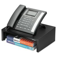 Fellowes Designer Suites™ Telephone Stand, 13 x 9 1/8 x 4 3/8, Black Pearl FEL8038601