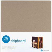 """Silhouette Chipboard 12""""X12"""" 25/Pkg NOTM044395"""