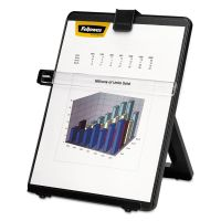 Fellowes Non-Magnetic Letter-Size Desktop Copyholder, Plastic, 125 Sheet Capacity, Black FEL21106