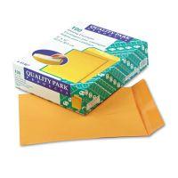 Quality Park Catalog Envelope, 9 x 12, Brown Kraft, 100/Box QUA41467