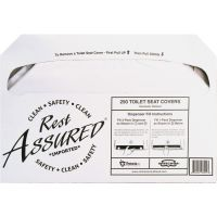 Impact Products Rest Assured Half Fold Toilet Seat Covers IMP25183273