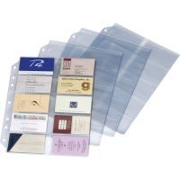 Cardinal EasyOpen Card File Binder Refill Pages CRD7860000