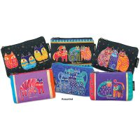 Laurel Burch Zipper Top Cosmetic Bag  NOTM085030