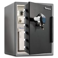 Sentry Safe Electronic Water-Resistant Fire-Safe, 2 ft3, 18 2/3 x 19 3/8 x 23 7/8, Black SENSFW205GRC