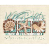 Seashells Punch Needle Kit NOTM313287