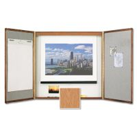 Quartet Premium Conference Room Cabinet QRT853