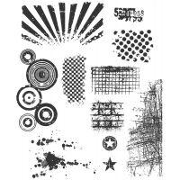 "Tim Holtz Cling Rubber Stamp Set 7""X8.5"" NOTM461187"