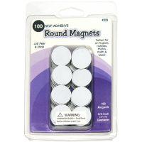 Round Magnets 100/Pkg NOTM158784