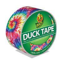 "Duck Colored Duct Tape, 9 mil, 1.88"" x 10 yds, 3"" Core, Love Tie Dye DUC283268"