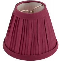 Darice Pleated Cloth Covered Lamp Shade NOTM223652