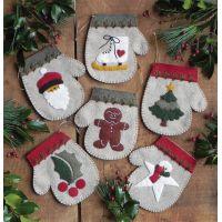 Warm Hands Ornament Kit 6/Pkg NOTM050210
