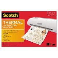 Scotch Menu Size Thermal Laminating Pouches, 3 mil, 17 1/2 x 11 1/2, 25/Pack MMMTP385625