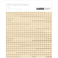 "Mini Alphabet Stickers 5.9""X5.9"" Sheet NOTM451499"