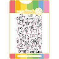 Waffle Flower Stamp & Die Set NOTM323374