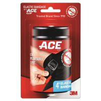 "ACE Abdomen, Ankle, Back, Calf, Elbow, Foot, Knee, Shoulder, Wrist Bandages, 4""x64"" MMM207468"