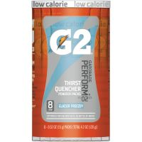 Gatorade G2 Blue Single Serve Powder Packets QKR13160