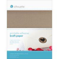 "Silhouette Printable Sticker Paper 8.5""X11"" 10/Pkg NOTM275816"