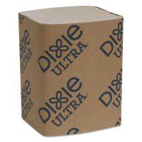 "Dixie Ultra Interfold Napkin Refills 2-Ply, 6 1/2"" x 9 7/8"", Brown, 6000/Carton GPC32019"