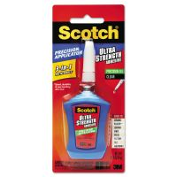 Scotch Ultra Strength Adhesive Gel, Precision Applicator, 0.14 oz, Clear MMMADH670