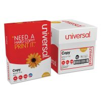 Universal Copy Paper Convenience Carton, 92 Brightness, 20 lb, 8 1/2 x 11, White, 2500 Sheets/Carton UNV11289