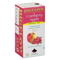 Bigelow Cranberry Apple Herbal Tea, 28/Box BTC10400