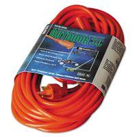 CCI Vinyl Outdoor Extension Cord, 50ft, 13 Amp, Orange COC02308
