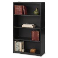 Safco ValueMate Economy 4-Shelf Steel Bookcase SAF7172BL