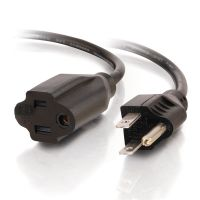 C2G 15ft 18 AWG Outlet Saver Power Extension Cord (NEMA 5-15P to NEMA 5-15R) SYNX1772713