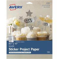 "Full-Sheet Sticker Project Paper 8.5""X11"" 5 Sheets NOTM436320"