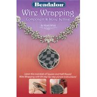 Beadalon Wire Wrapping Component & Stone Setting Book  NOTM449664