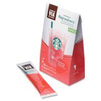 Starbucks VIA Refreshers, Strawberry Lemonade, 4.16 oz Pack, 6/Box SBK11036799