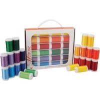Melrose Trilobal Polyester Thread Assortment 24/Pkg NOTM027198