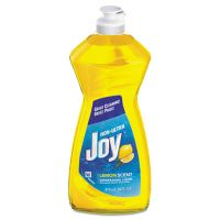 Joy Dishwashing Liquid, 14 oz Bottle, Lemon Scent, 25/Carton PGC21737
