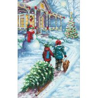 "Dimensions Counted Cross Stitch Kit 9""X14"" NOTM053130"