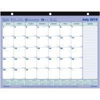 Rediform Academic Monthly Desk Pad REDCA181721