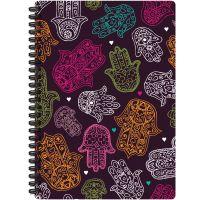 "Jewel Tones Spiral-Bound Notebook 7""X9.5"" NOTM308603"