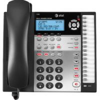 AT&T 1080 Corded Four-Line Expandable Telephone, Caller ID and Answering Machine ATT1080