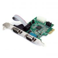 StarTech.com 2 Port PCI Express Serial Adapter Card SYNX2256376