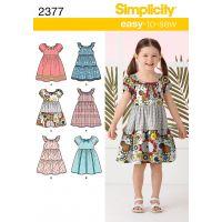 Simplicity Child Dresses NOTM495357