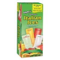 Wyler's Italian Ices Italian Ices Freezer Bars, Assorted Fruit Flavors, 2 oz, 16/Box JLS94816BX