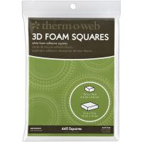 Therm-O-Web 3D Foam Squares Combo Pack NOTM239706