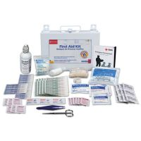 First Aid Only First Aid Kit for 25 People, 106-Pieces, OSHA Compliant, Metal Case FAO224U