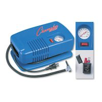 Champion Sports Electric Inflating Pump w/Gauge, Hose & Needle, .25hp Compressor CSIEP1500