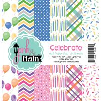 """Pink & Main Double-Sided Paper Pad 6""""X6"""" 24/Pkg NOTM391161"""