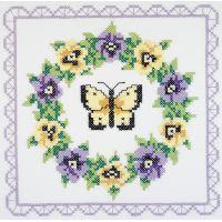 Janlynn Stamped Cross Stitch Quilt Blocks Kit NOTM404949