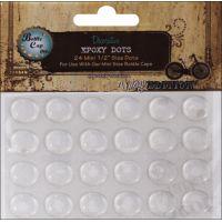 """Vintage Collection Epoxy Dots .5"""" 24/Pkg NOTM486488"""