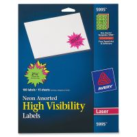 Avery High Visibility Labels AVE5995