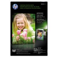 HP Everyday Glossy Photo Paper, 53 lbs., 4 x 6, 100 Sheets/Pack HEWCR759A