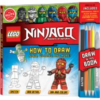 LEGO(R) Ninjago(R) How To Draw Ninja, Villians And More! NOTM022570